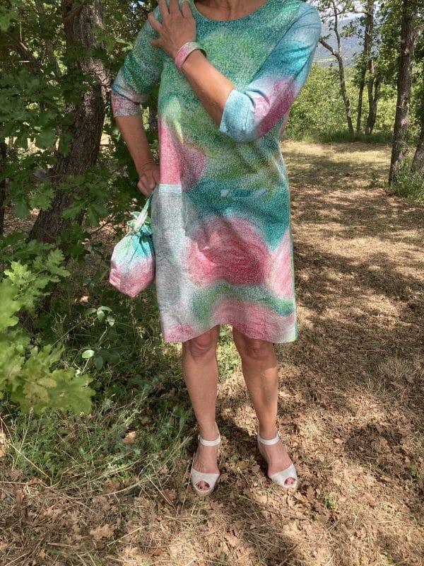 robe trapèze